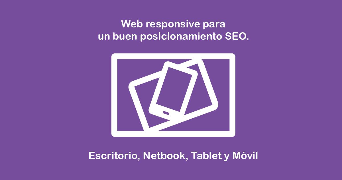 Diseño web Responsivo, clave para el SEO